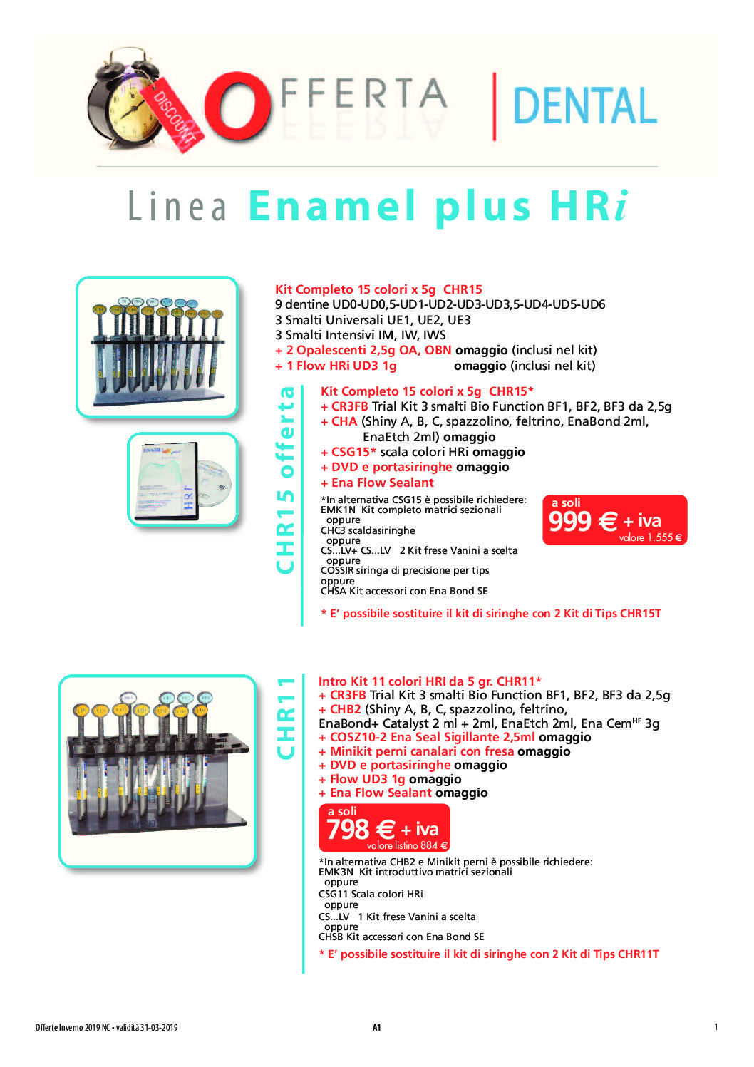 Offerte - Dental-C Materiale odontoiatrico ed odontotecnico
